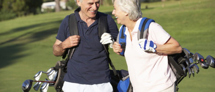 golf pour senior