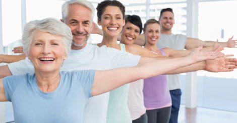 cours de fitness pour seniors