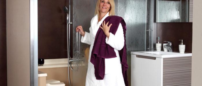 douche sécurisée pour senior