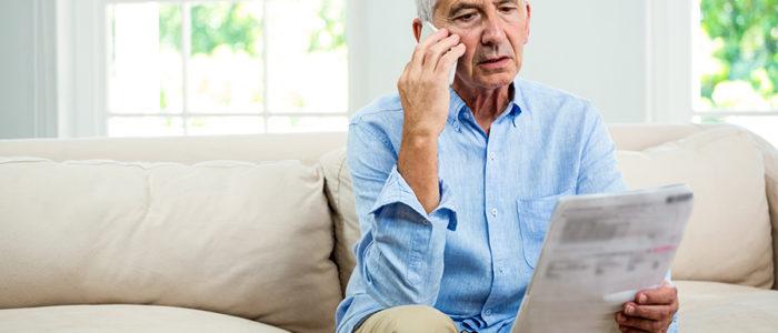 homme telephone retraite